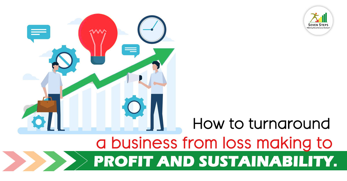 How to Turnaround A Loss Making Business- Effective Turnaround Strategies | Seven Steps Global
